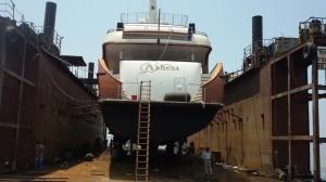 Ship Reparing Building
